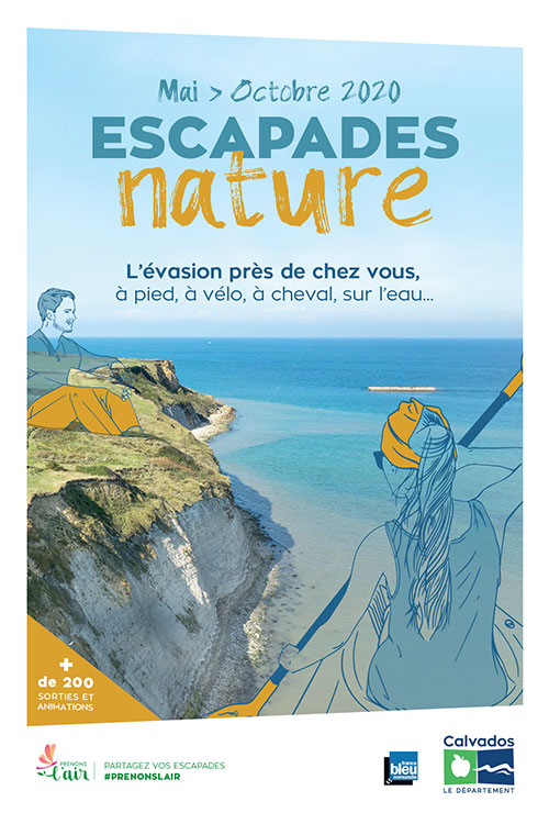 Couverture de la brochure Escapades nature 2020