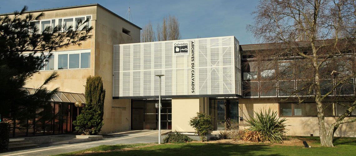 Inauguration des Archives du Calvados